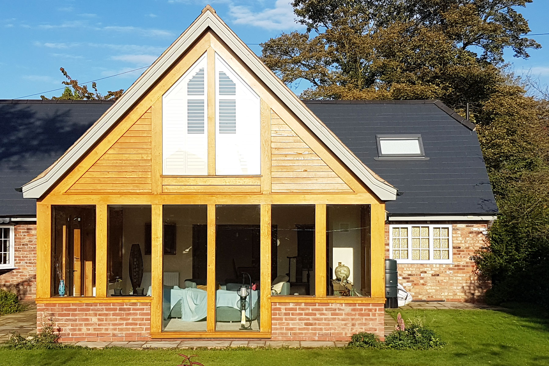oak framed gables chester cheshire north wales