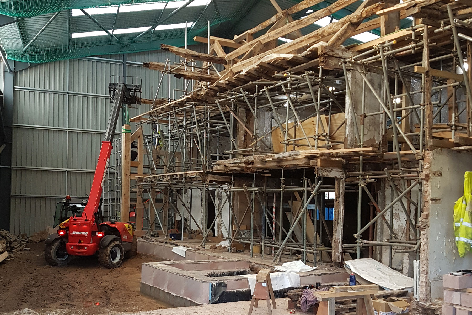 oak frame restoration experts uk chester cheshire north wales